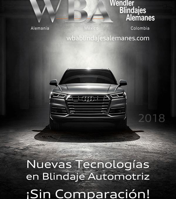 WBA Blindajes alemanes Innovación Tecnológica 2018