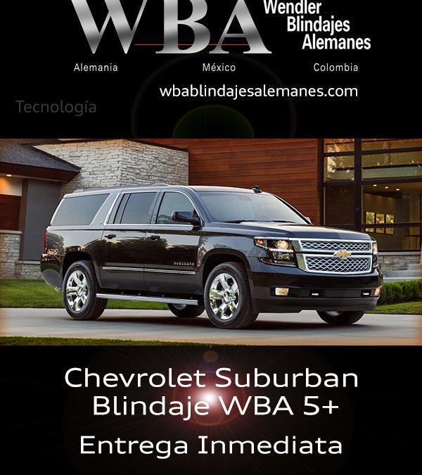 WBA Suburban Blindada N5+ Entrega Inmediata 2108