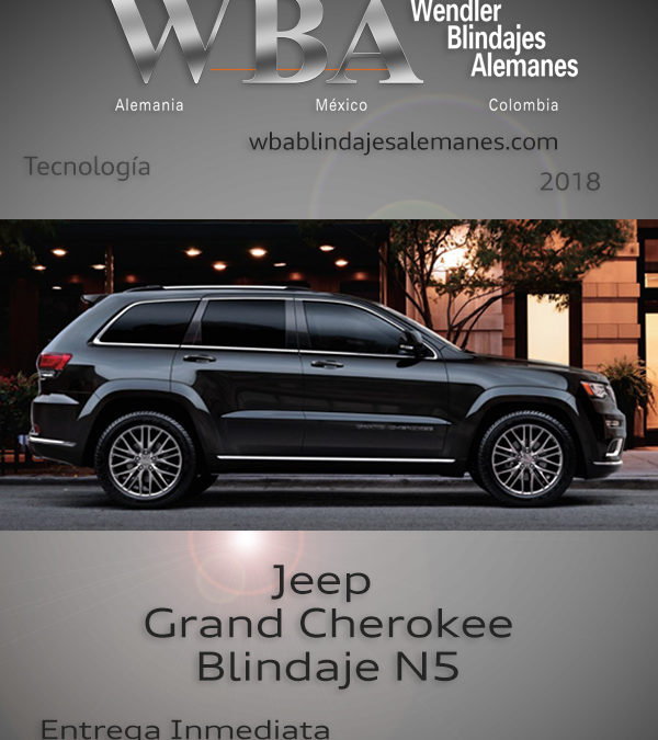 WBA Blindajes Alemanes Jeep Cherokee
