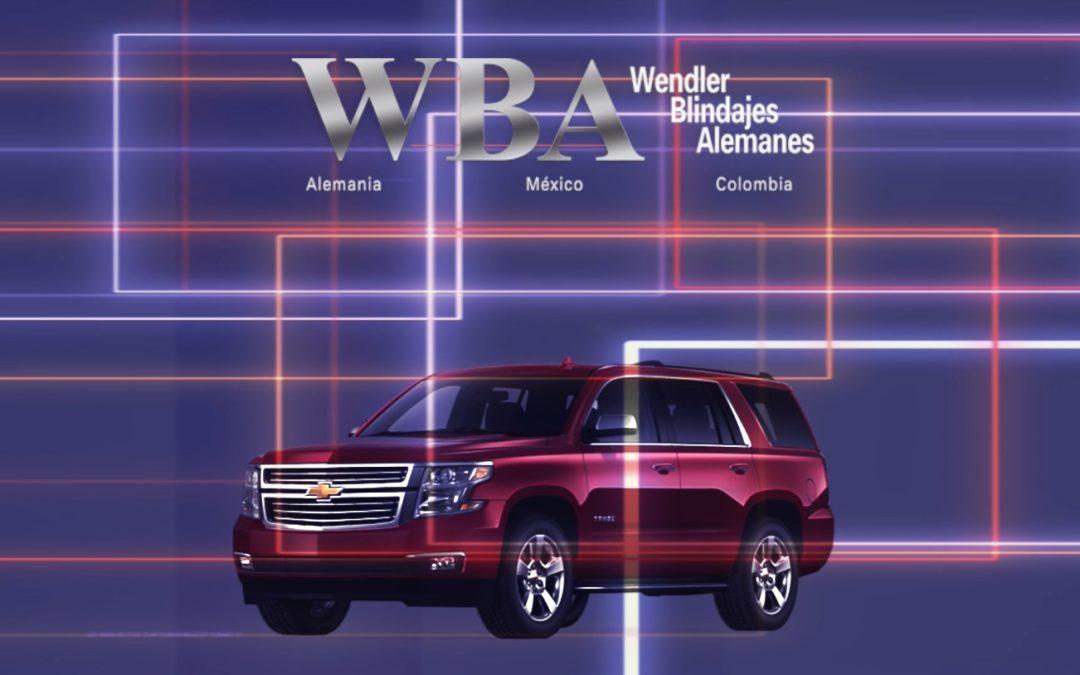 Chevrolet Tahoe 2019 WBA Blindajes Alemanes