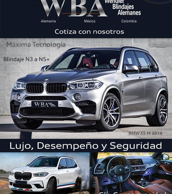BMW M5 lujo desempeño y seguridad, blindaje N3 a N5+