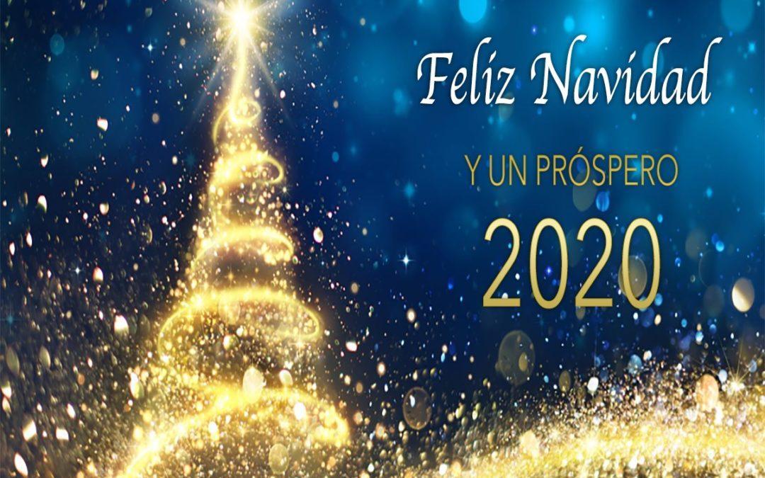 Feliz Navidad y un Próspero 2020