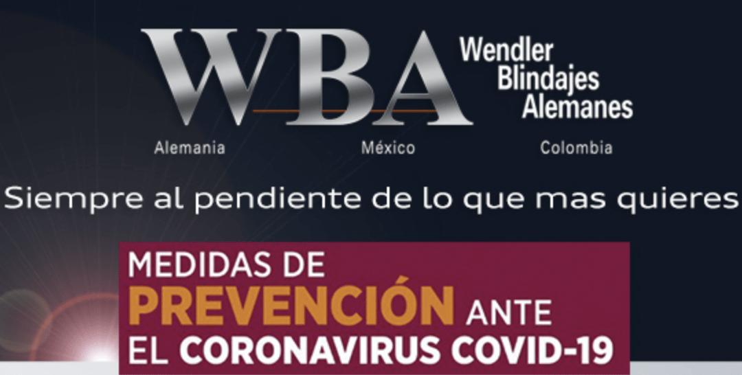 Recomendaciones para evitar el Coronavirus Covid-19
