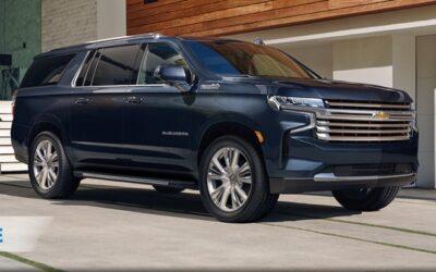 Desarrollo exclusivo para  Chevrolet Suburban 2021