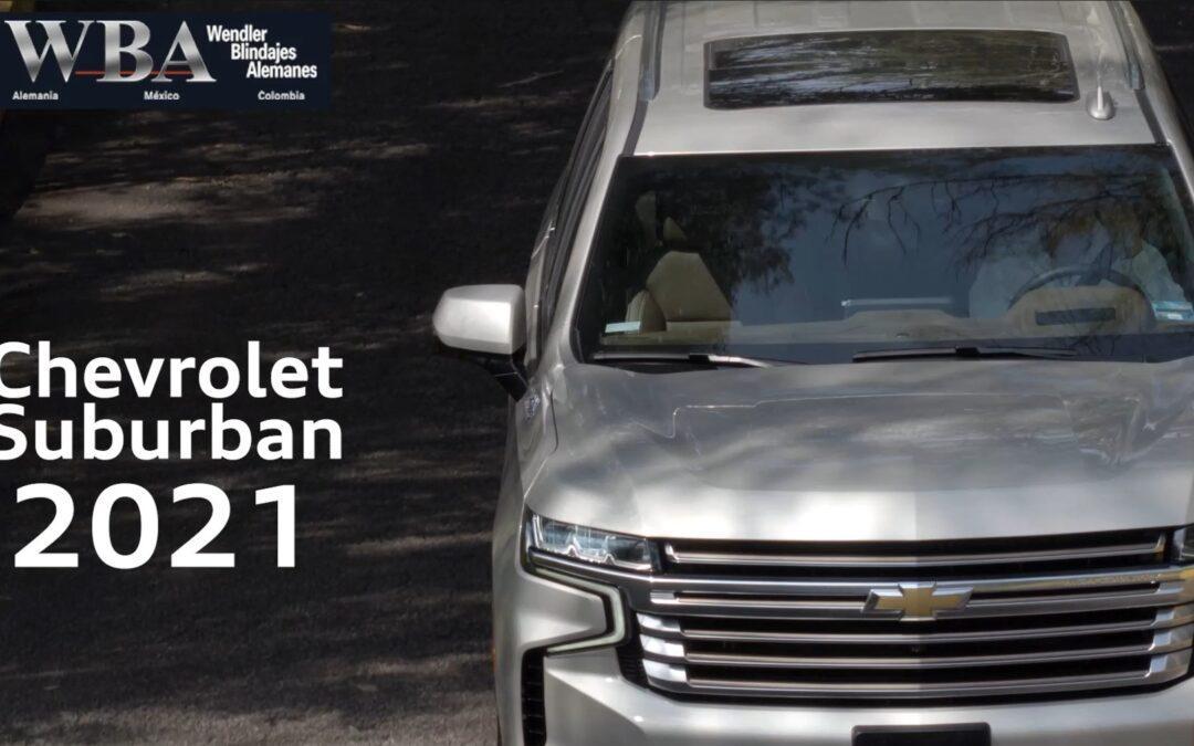 Chevrolet Suburban y Tahoe 2021