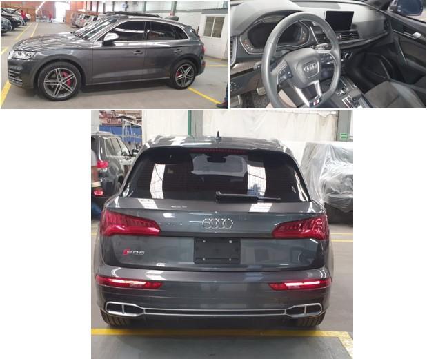 Audi SQ5 TFSI QUATTRO Blindado