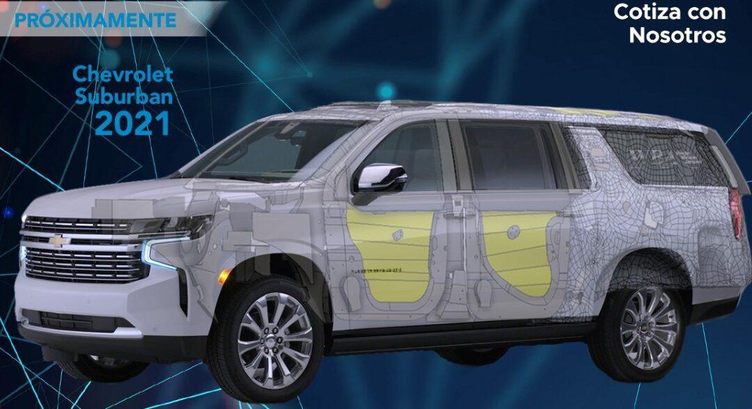 Blindaje para Chevrolet Suburban 2021