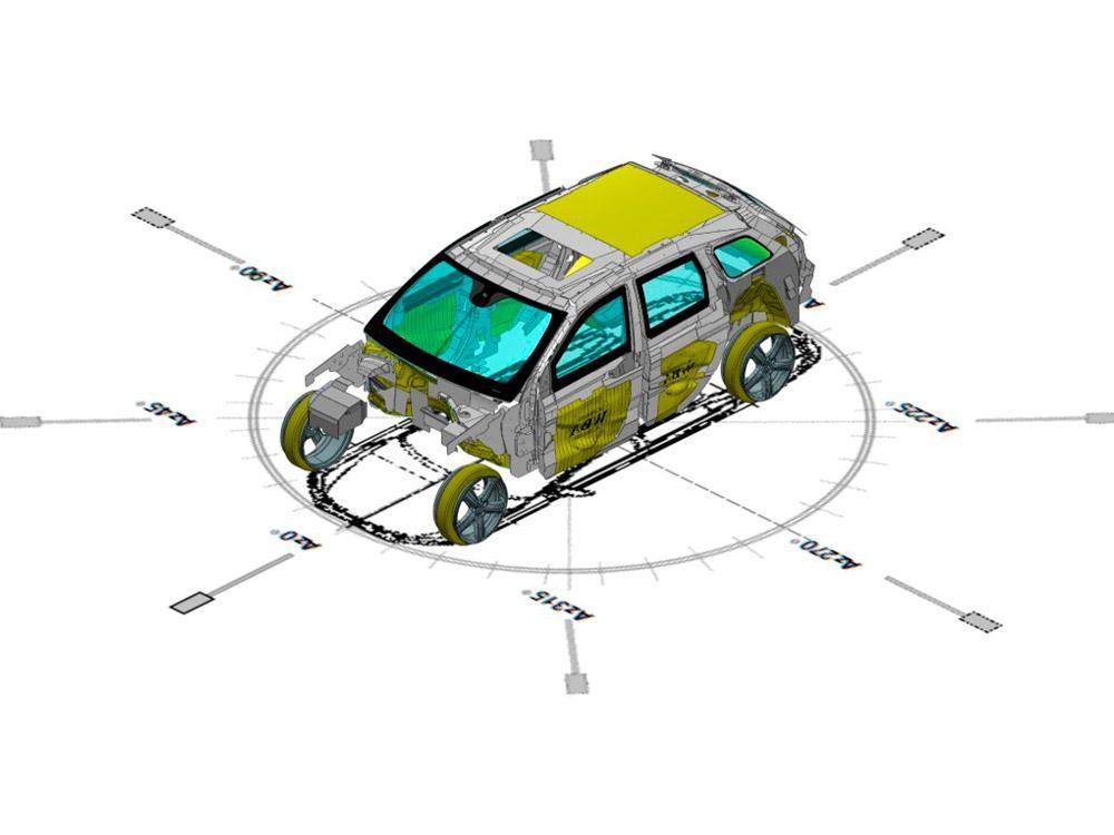 Diagrama de Blindaje Automotriz