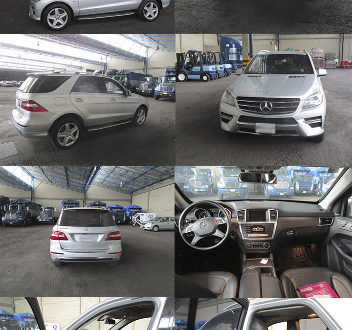 Mercedes Benz ML350 Blidada