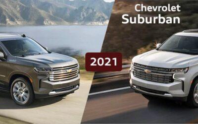 Presentamos la Chevrolet Suburban y Tahoe 2021