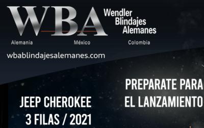 lanzamiento de la nueva JEEP Cherokee blindada de tres filas 2021